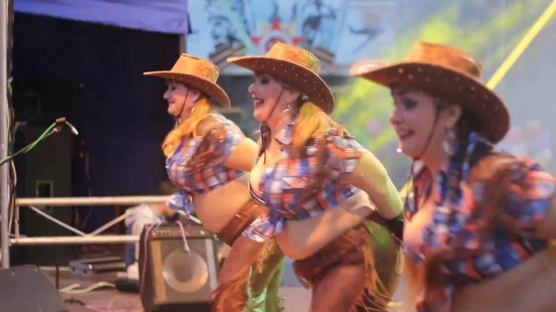 Нижняя Тура| Ковбои (отрывок), День города 2016