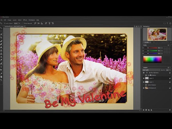 DIY: 3 Adorable Valentine's Day Cards Using AKVIS Software