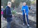 Лыжники, гребцы и футболисты Сызрани посадили 1000 сосен