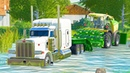 Crossing River with $500K Silage Equipment Delivery - Farming Simulator 19 Mods | LS19 Maps