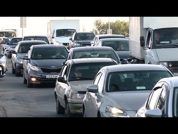 Повышенное давление: Краснодар переживает пробки на Тургеневском мосту