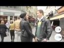 Women gropes strangers' BALLS in street for prostate cancer awareness