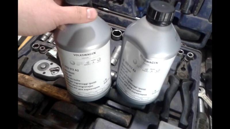 Замена масла в мкпп 5 ст., Шкода Октавия, А5 Skoda Octavia, А5, 1.6 MPI