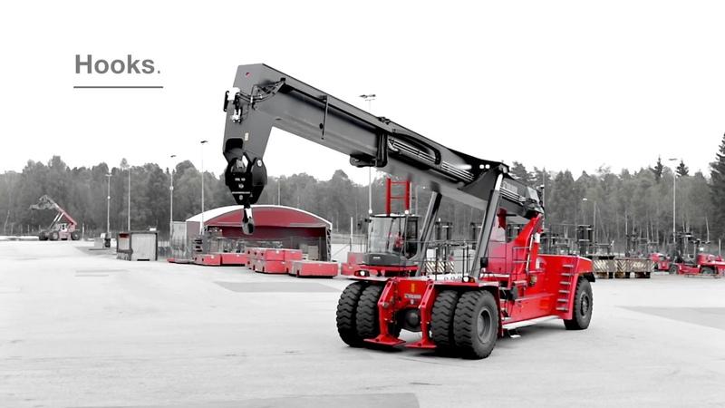 Kalmar counterbalanced container handlers