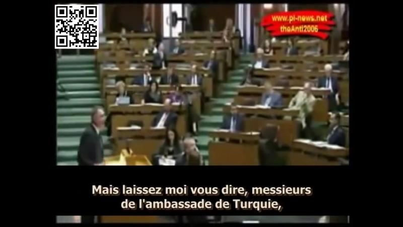 Ambassadeur turc remis en place par le député autrichien Ewa