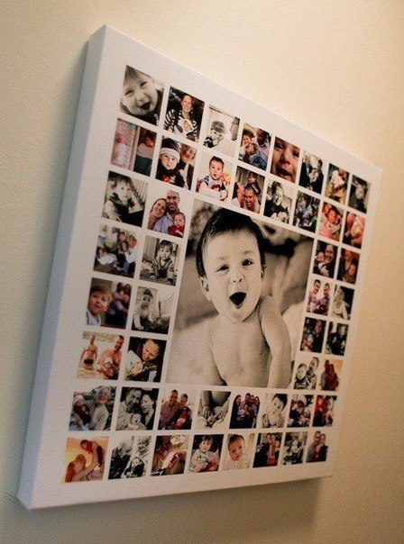 коллаж фотографий на день рождения: