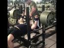 Брэндон Пердю жим лежа 265 кг