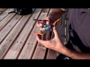 An insect-inspired drone deforms upon impact