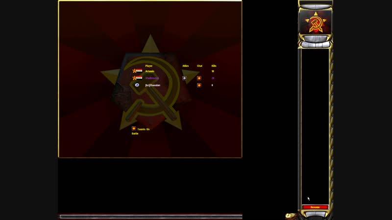 CC Red Alert 2 (OD) 240119(11) - Vladivostok vs Artemis