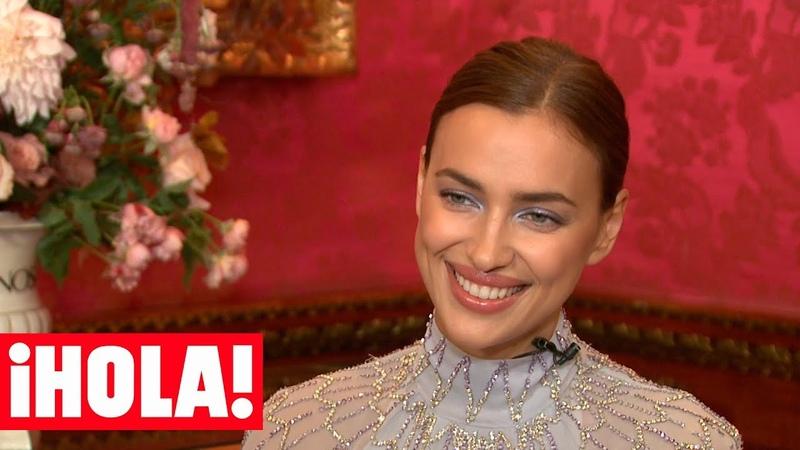 Irina Shayk, sobre su vida con Bradley Cooper y su hija: 'Soy muy feliz y afortunada'