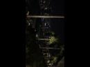 Ночью Singapore Marina bay sands hotel