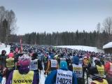 Лыжный марафон Vasaloppet в Швеции