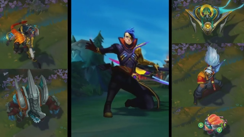 Odyssey Skins Teaser Preview Yasuo, Jinx, Sona, Malphite and Kayn