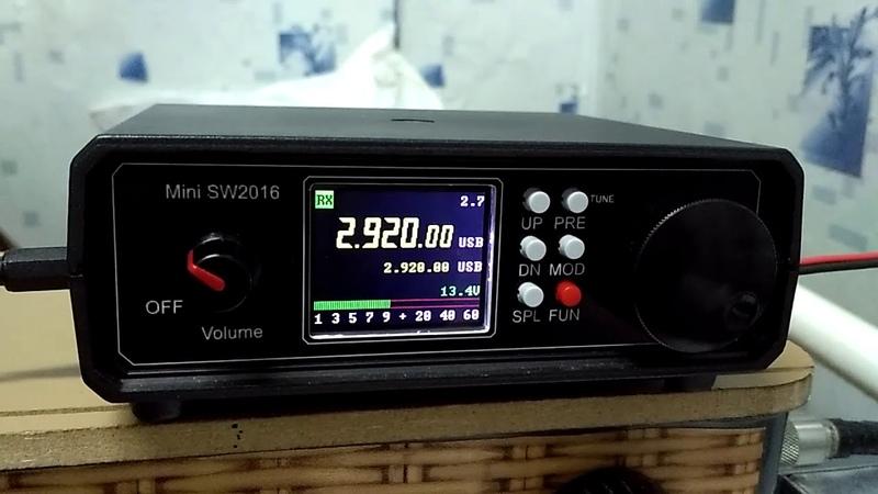 2920. Пираты проверяют на прочность S метр трансивера mini SW2016