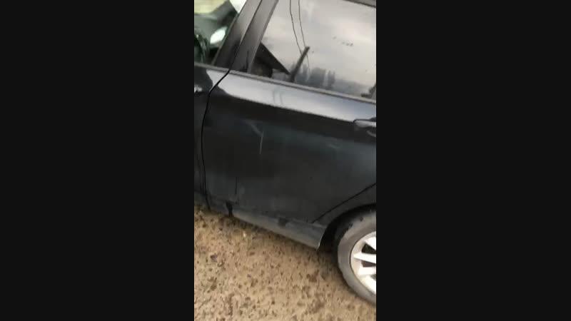 Авто-полотенце в деле