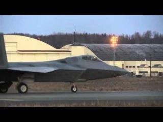 F-22 Раптор на Аляске