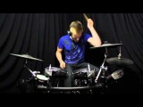 Joey Wojcik Al Bizzare - Ice jump Drum cover