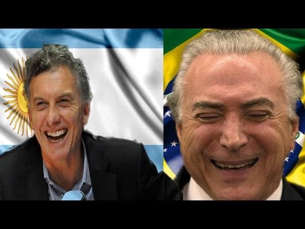 🔴 Michel Temer Cai em trote do falso Macri da Argentina ao assumir a presidência