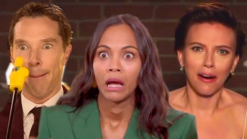 Avengers Infinity War Cast ★ All Best Funniest Moments