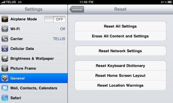 Как перенести данные со старого iPad на новый