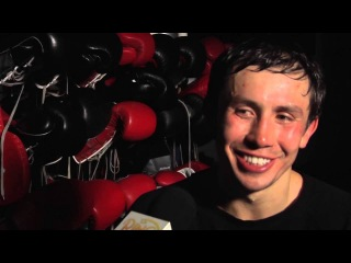 Gennady Golovkin training & interview