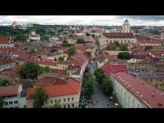 Lithuania travel-vilnius _baltic_old town_university_st. annes church