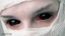 How to insert and remove red sclera contact lenses