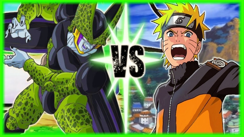 Perfect Cell Vs Naruto