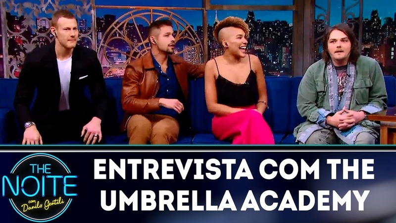 Entrevista com The Umbrella Academy | The Noite (10/12/18)