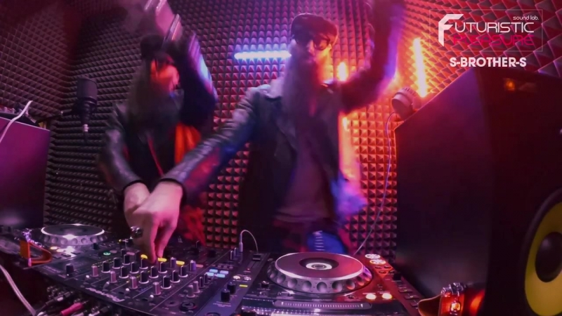 DJ Project S BROTHER S of Futuristic Pleasure Live 13 04 18
