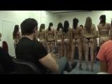 Молодые русские девочки - студентки на кастинге, секс жопы сиськи модели юные