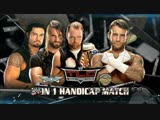 (WWE Mania) TLC 2013 CM Punk vs The Shield