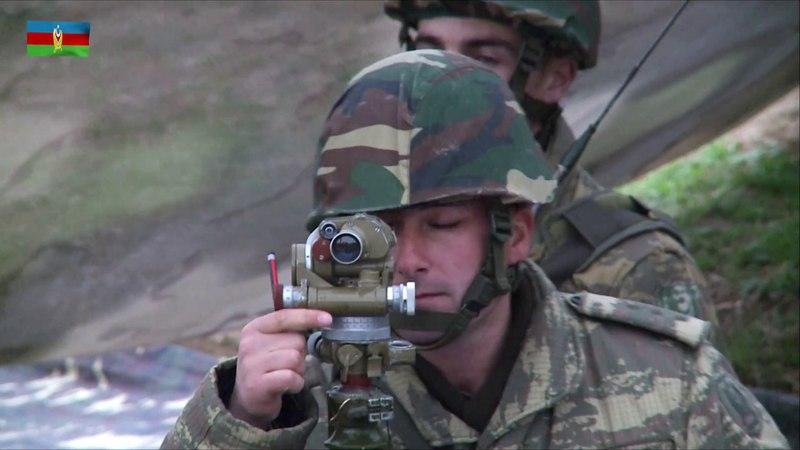 Artilleriya hərbi hissəsində xidmətin bir günü - 08.05.2018