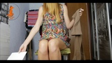 Pantyhose try on n.6 (one strike yt version) by RedHead Foxy90