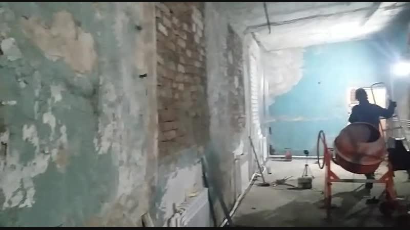 Продолжение ремонта на станции скорой помощи Антидогхантер ПермьZoohelp Операционная процедурная блок для тяжелых пациентов