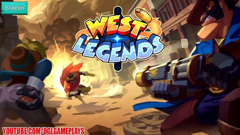 West Legends: 3V3 MOBA (By Taihe Games) Android iOS Gameplay