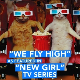 """Extreme Music альбом We Fly High (As Featured in """"New Girl"""" TV Series) - Single"""