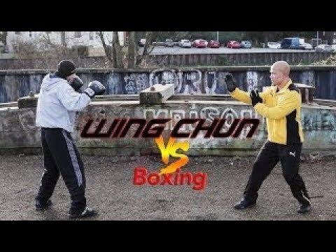 Вин Чун против Бокса РЕАЛЬНЫЙ БОЙ
