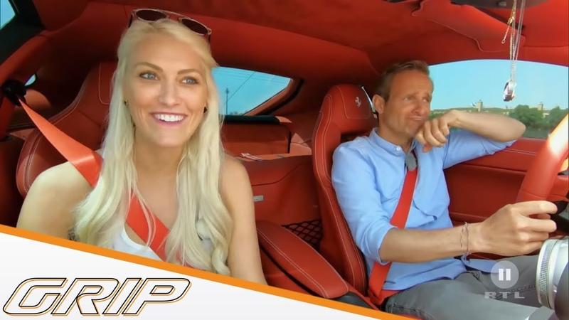 Matthias Malmedie trifft Supercar Blondie in Dubai   GRIP