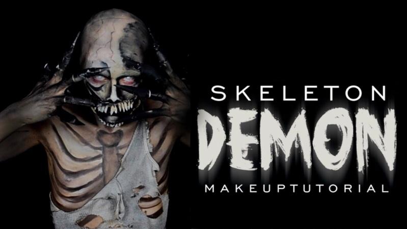 Skeleton Demon Makeup Tutorial | NYX Face Awards 2015