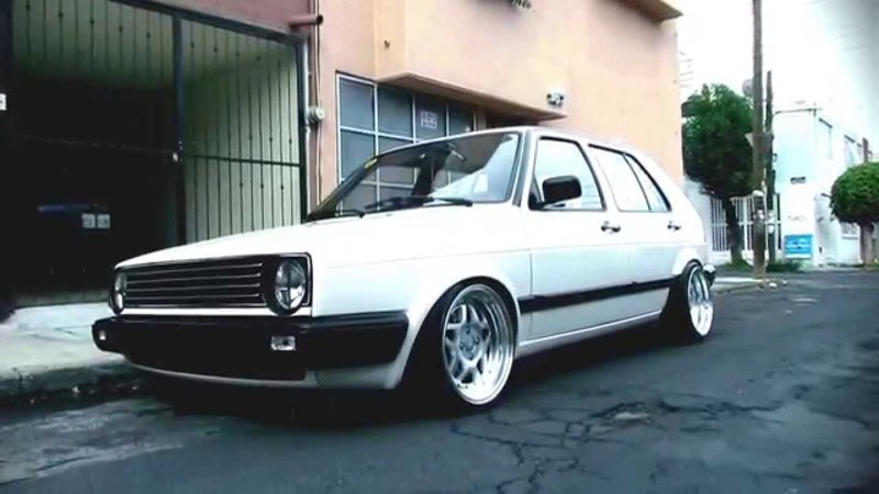 VW Golf | VolksWagen Stance Modification | VW Goolf Best Hella Flush