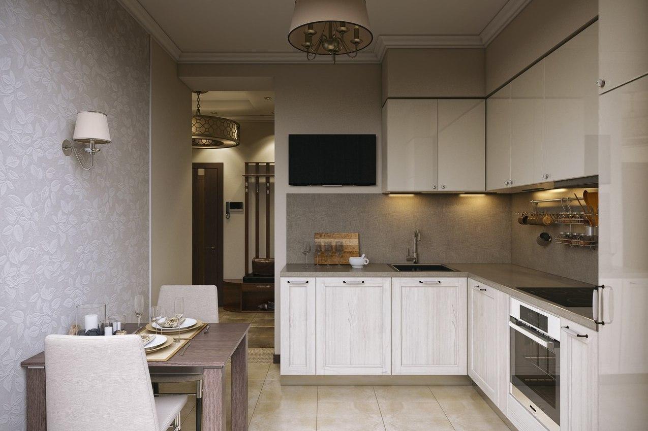 Современная кухня 8 кв.