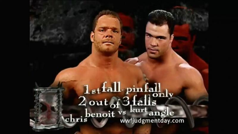 (WWEWM) Курт Энгл пр. Крис Бенуа (20.05.2001, Judgment Day)