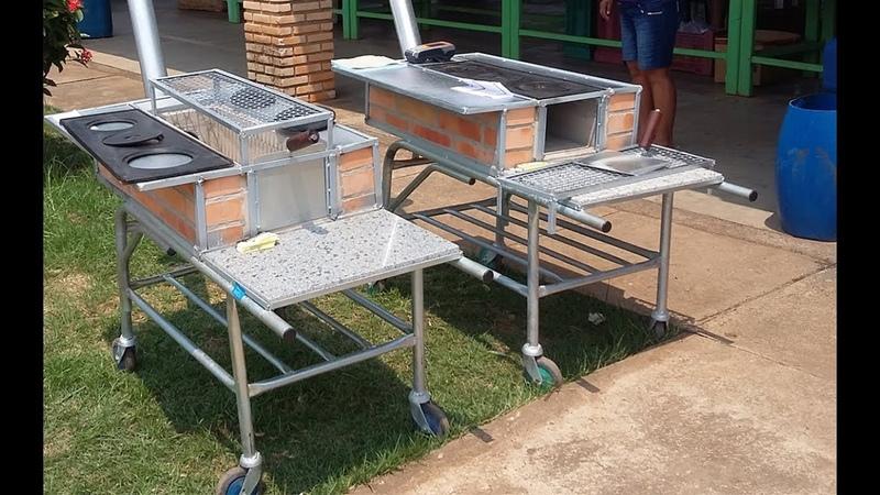 ATENÇÃO PARA O NOVO Nº (65) 9 9689-4065 Fogão a lenha 3 em 1 - Fogão, forno e churrasqueira -