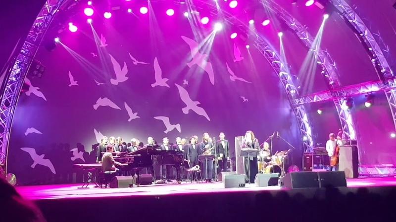 Reka Tamara concert at the Ostankino Park, 31.08.2018