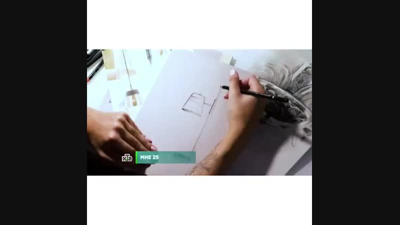 Дизайн рождается из страсти…. ⠀ Смотрите видео про молодую, но уже продвинутую девушку дизанера Варвару Букури из компании Майто