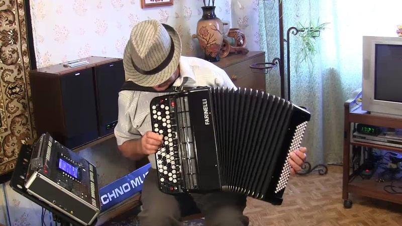 Электробаян Виктора Шевцова - Серебряные гитары 60х годов