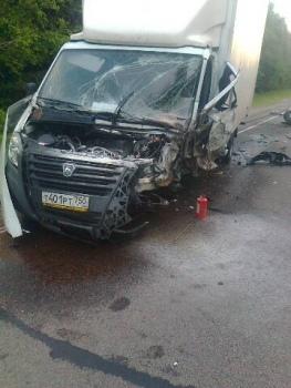 В столкновении с «Газелью» погиб водитель внедорожника