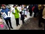 Увольнение учителя из Ногинской гимназии. Ученики и родители вышли на защиту учителя.