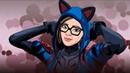 Lynx in Fortnite Неоновая рысь в фортнайт Speed art Vector
